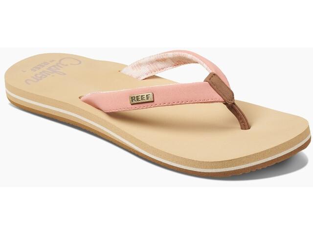 Reef Cushion Sands Sandalias Mujer, beige/rosa